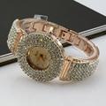 New Fashion Hot Lady's Wrist Watch Timer Clock Luxury Elegant Fully-jewelled Delicate Analog Lady Wowen Quartz Watch