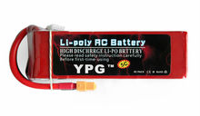 YPG 5200mah 14.8V 40C 4S Lipo Li-Po Lipoly Battery for RC Helicopter & Airplane & Car