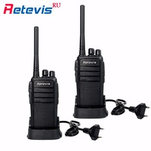 2pcs Professional Walkie Talkie Retevis RT21 2.5W 16CH UHF 400-480MHz VOX Scrambler Handy cb Radio 2 Way Ham Radio Communicator