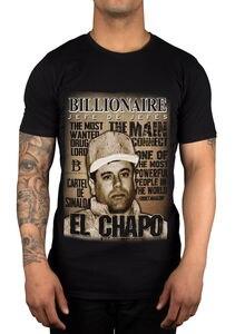 Image 2 - 2019 vendas quentes camisa de t do verão dos homens do senhor da droga jaoquin guzman da prisão
