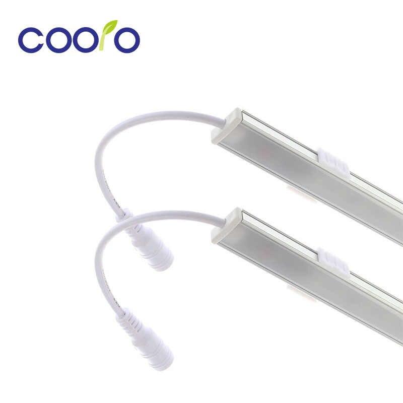 2 шт. * 50 см светодиодный сенсорный Сенсор бар фары ночные огни с регулируемой яркостью 36 светодиодный DC12V для шкафа с выдвижными ящиками для гардероба пробка для кухни/мебель для спальни