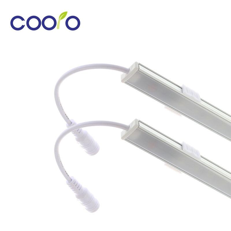 2pcs* 50CM LED Touch Sensor Bar Light Night Lights Dimmable 36 LED DC12V Drawer Cabinet Wardrobe Tube for kitchen / bedroom