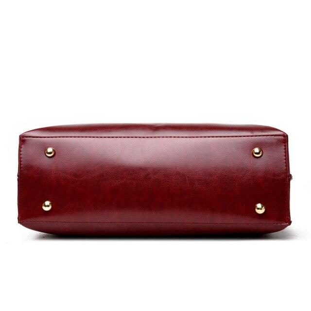 Ladies Hand Bags Women Fashion Handbags - PU Leather Shoulder Bag Women Office Bags 3