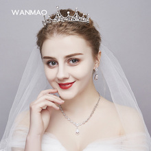 The bride new crown crown crystal head crown wedding hair accessories wedding dress accessories women jewelry    HD215