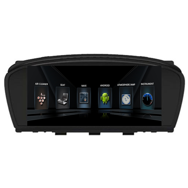 8 8 android car radio dvd gps navigation central multimedia for bmw e60 e61 e63 e64 2003 2004. Black Bedroom Furniture Sets. Home Design Ideas