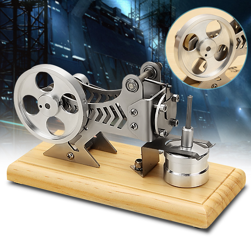 2018 New Arrival Stirling Engine Model Vacuum Motor Model Building Kits Engine Motor Educational Toys For Children Kid Gift Toy
