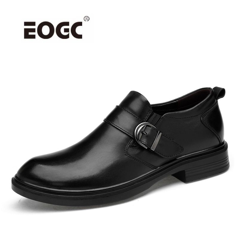 Natural cow leather men shoes oxfords comfortable business wedding dress shoes wedding high quality shoes men