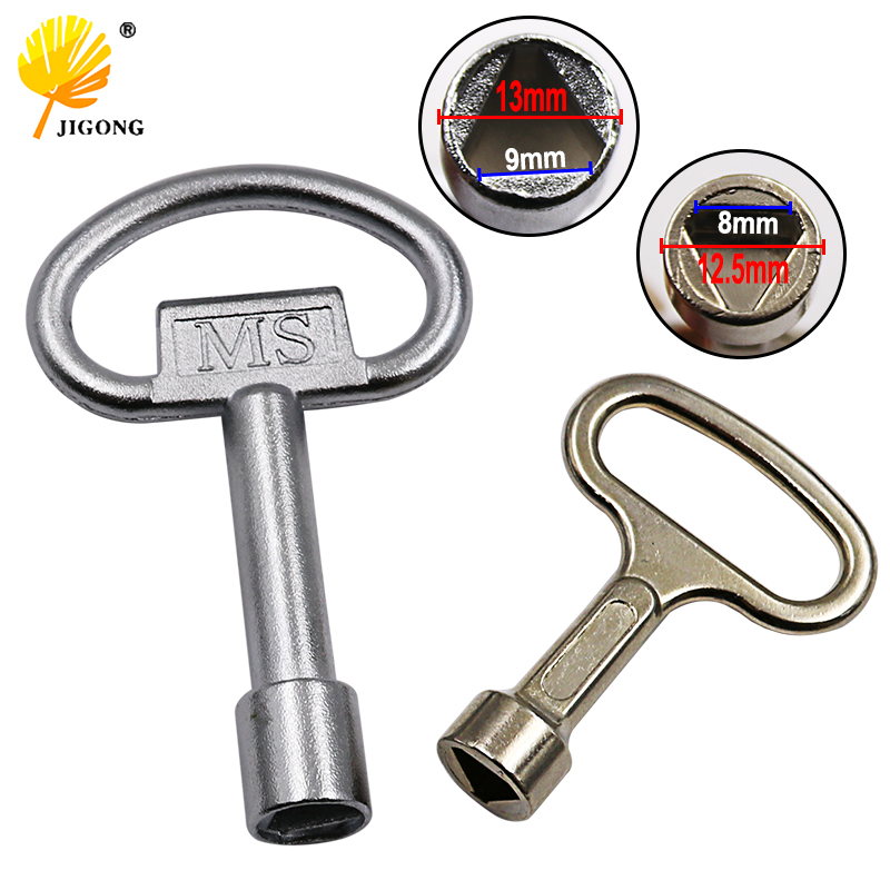 1 Way Service Utility Key Key Plumber Keys Triangle For Gas Electric Meter Cabinets