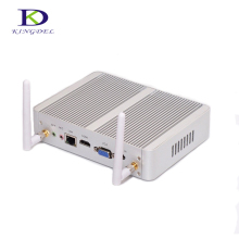Best price Quad Core mini PC Fanles HTPC Intel Celeron N3150 Intel HD Graphics 4*USB 3.0 HDMI LAN VGA