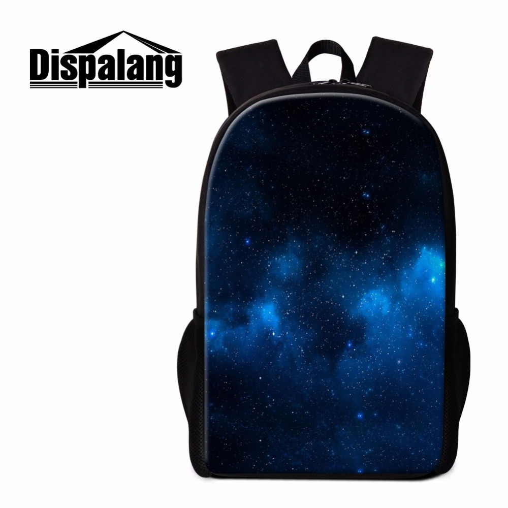 Dispalang Cool Backpack for Teenagers Galaxy Design School Bookbags for Girls Trendy Shoulder Back Pack Colored Children Mochila