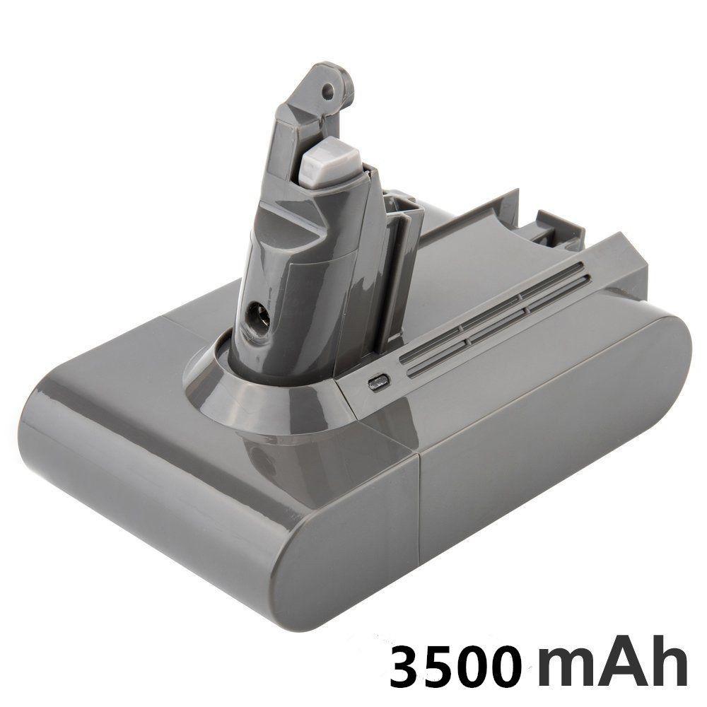 21.6 V 3500 mAH Batterie De Remplacement pour Dyson V6 DC58 DC59 DC61 DC62 DC74 SV09 SV07 SV03 965874-02