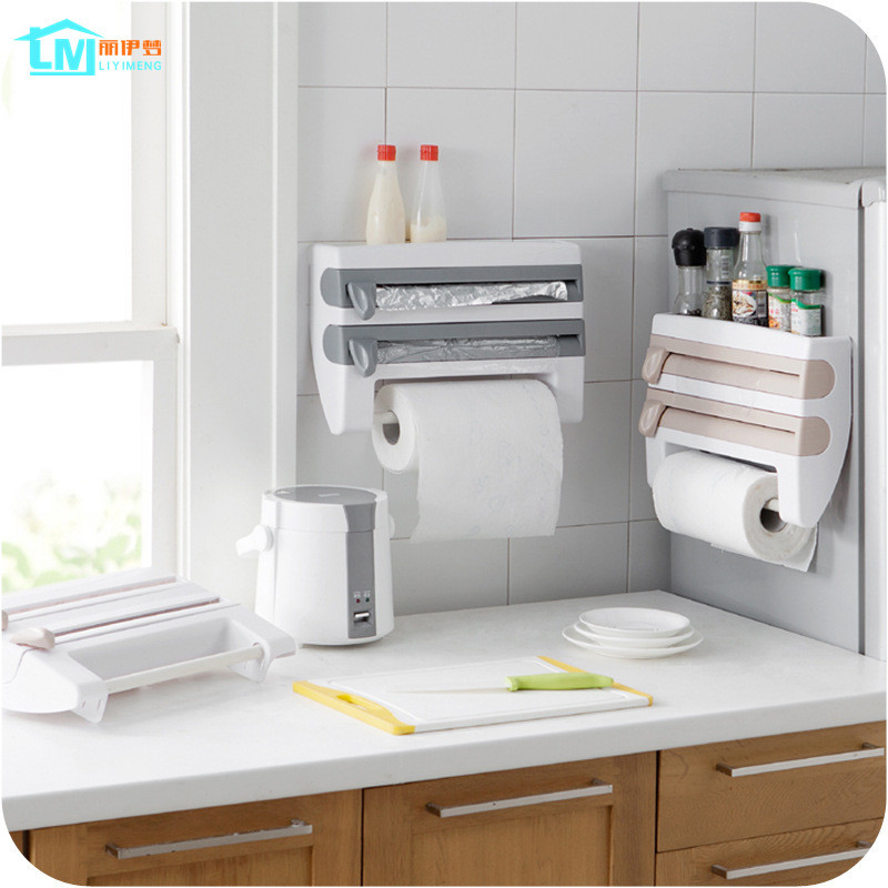 Buy liyimeng kitchen paper holder hanger - Distributeur de rouleaux de papier cuisine ...