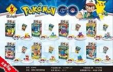 SL8942 Pokemon Go Pikachu Charmander/Squirtle/Bulbasaur Bricks Toy Minifigures Building Block Minifigure Toys Best Toys