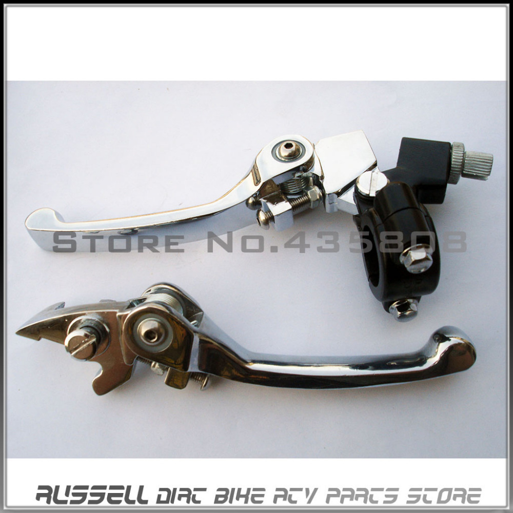 Folding Brake Clutch Levers Stomp IMR SSR 125 140 cc CRF50 KLX TTR Pit Dirt Bike  цены