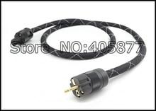 Viborg audio Prisma Helix 8 SA-OF 8N Kupfer SCHUKO Stromkabel GoldplatedEURpower stecker kabel hifi netzkabel kabel für DVD CD AMP