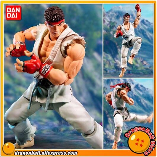 Japan Anime Street Fighter Original BANDAI Tamashii Nations SHF/ S.H.Figuarts Action Figure - Ryu 100% original bandai tamashii nations s h figuarts shf action figure chun li from street fighter