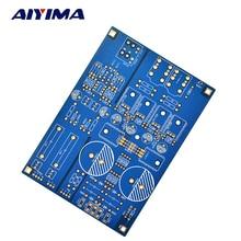 Aiyima Double 15 v-18 V Lehmann AMP DIY PCB carte nue Pour pré-amplificateur écouteurs Fonction