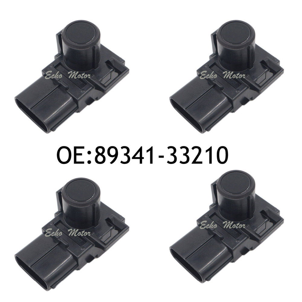 4PCS 89341-33210 188400-2820 Parking Ultrasonic Sensor For Lexus RX270 RX350 RX450H GX400 GX460 Toyota Camry Land Cruiser Prado 4 pcs auto parts new original ultrasonic parking sensor 89341 76010 c0 89341 76010 8934176010 for lexus gs450 hybrid