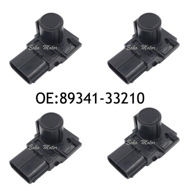 4PCS 89341-33210 188400-2820 Parking Ultrasonic Sensor For Lexus RX270 RX350 RX450H GX400 GX460 Toyota Camry Land Cruiser Prado