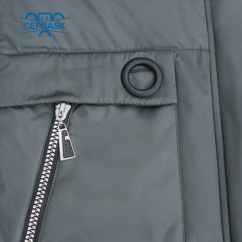 Image 5 - CEPRASK 2019 New High Quality Winter Jacket Women Plus Size 6XL  Long Bio fluff Womens Parka Winter Coat Hooded Warm Down JacketParkas