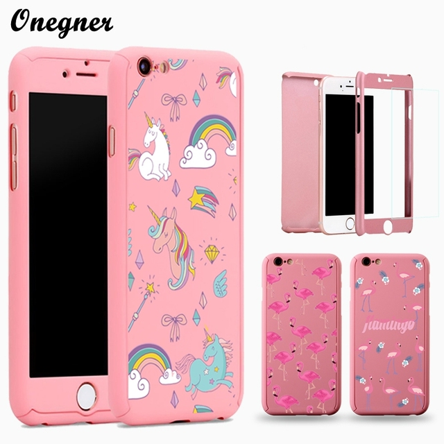 iphone 6s full body case pink