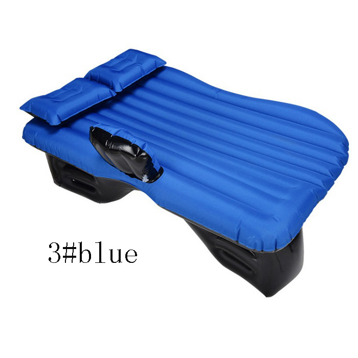 Universal Car Travel Bed Cushion Seat Cover Air Travel Mattress Inflatable  Bed waterproof oxford fabric durable Wh - Durable Air Mattress Promotion-Shop For Promotional Durable Air