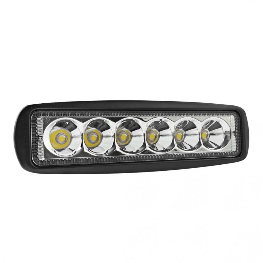Dayanıklı Evrensel 1550LM 6 Inç 18 W 6000 K Araba LED İş Işık - Araba Farları - Fotoğraf 3