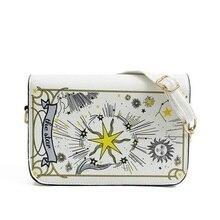 fashion , Personalized fashion Tarot Chains bags , handbags, High-grade, women, Messenger, casual ladies , leather shoulder bag