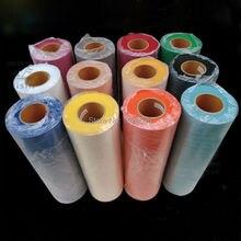 Новые 12 цветов флок теплопередачи винил для плоттера передачи на одежде Размер: 50X100 см/лот