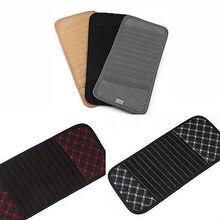 Hot 1PCS Car CD DVD Sun Visor Card Case Storage Holder Clipper Bag Pocket 12pcs Disks Black Beige Gray