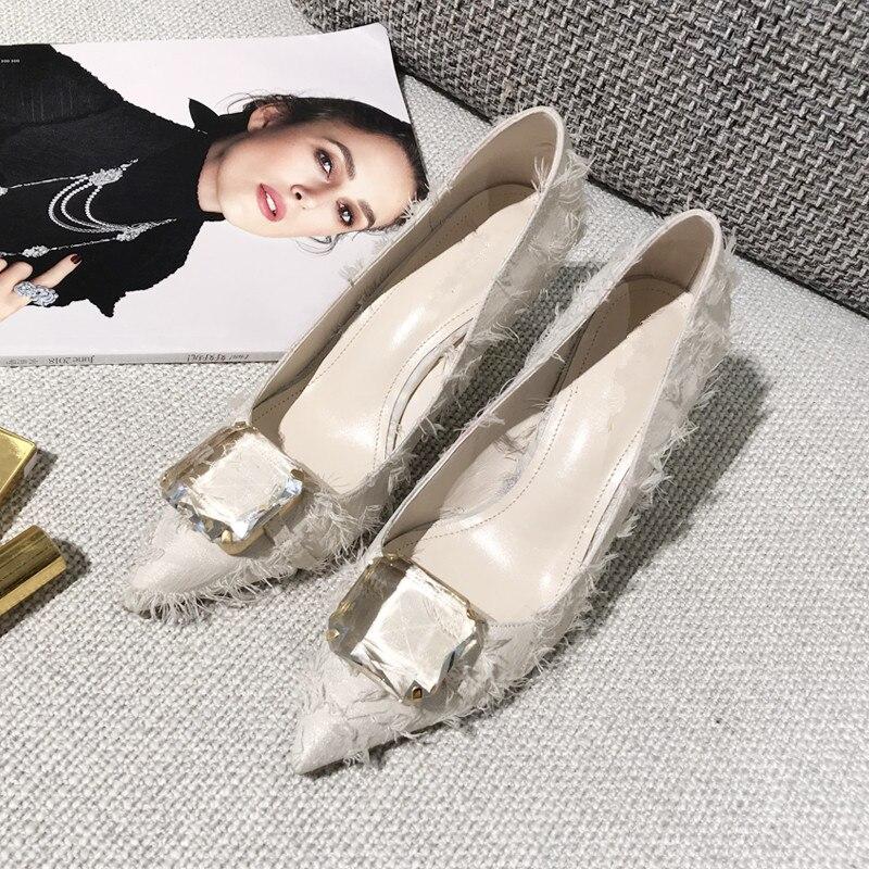 Femenino 6cm Zapatos Pic De Pic Diseñador Sapato Bombas Las Borla 8cm Cristal Pic Tacón 6cm Alto Pista Caliente As Mujeres Mujer 4PA6wAq