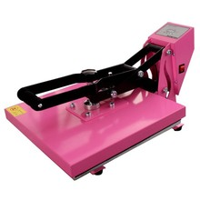 Factory flatbed lanyard Heat Press Machine heat transfer machine for clothes 38 38cm