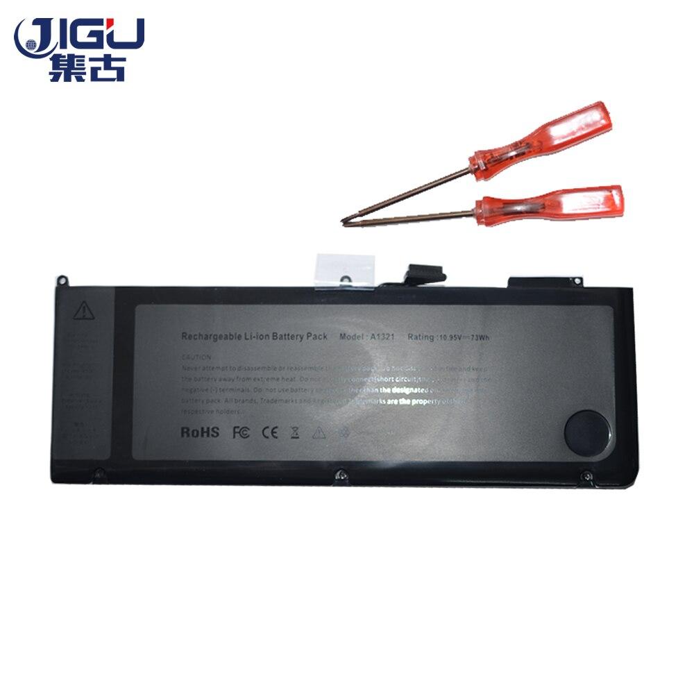 JIGU Marque Nouvel Ordinateur Portable Batterie A1321 pour APPLE MacBook Pro 15 A1286 MB985 MC986 MC118 MC371 MC372 MC373 Série