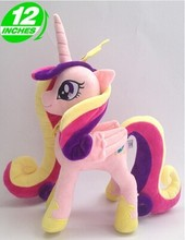 lovely plush pink horse toy cute stuffed horse doll Rhyme princess horse toy doll gift toy about 32cm