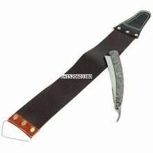 Kemei прямой край нержавеющая сталь формирователь Парикмахерская бритва складной инструмент для бритья