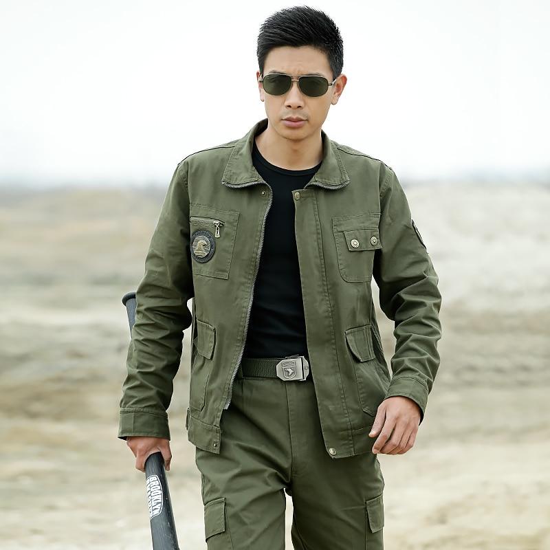 ФОТО DOMAN Outdoor Men's Military Tactical Suits Hunting Airsoft Combat Gear Training Uniform sets Jacket + Pants Multicam CS suit