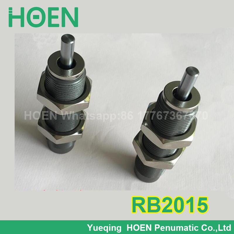 RB2015 Pneumatic Air Cylinder Shock Absorber RB 2015 O.D. thread size 20mm Stroke 15mm SMC type RB series Buffers rbl1411 shock absorber smc buffer bumper auxiliary components pneumatic component air tools rb series