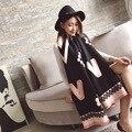 2016 новый стиль Осень/WinterSnowflake шаблон двойного назначения шарф женщины платок шарф кашемира skyour, size190 * 65 см