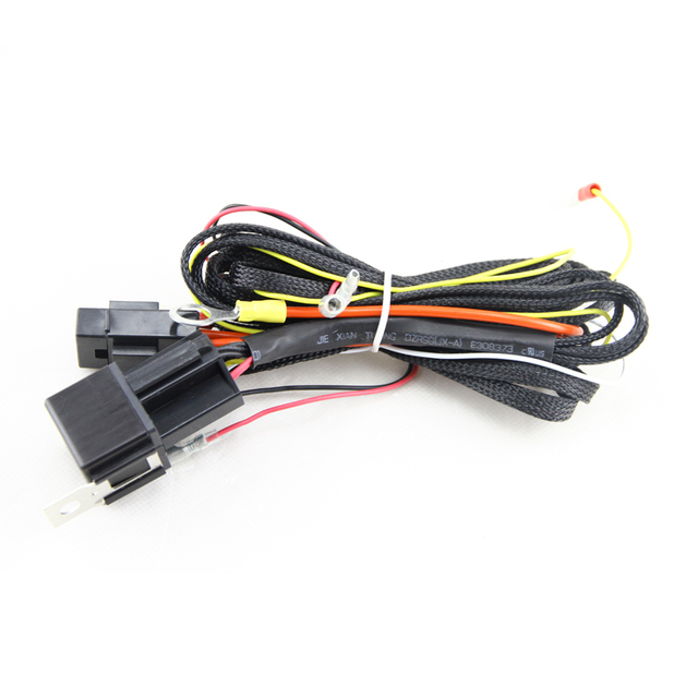 SMD LED Angel Eyes DRL LED LIGHTS LAMP Wiring Relay Harness for BMW