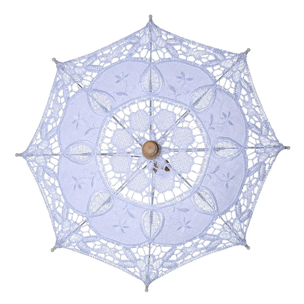 Strollers Accessories Contemplative Fashion Portable Lace Parasol Umbrella Wedding Decor Baby Infants Photography Props Good Companions For Children As Well As Adults