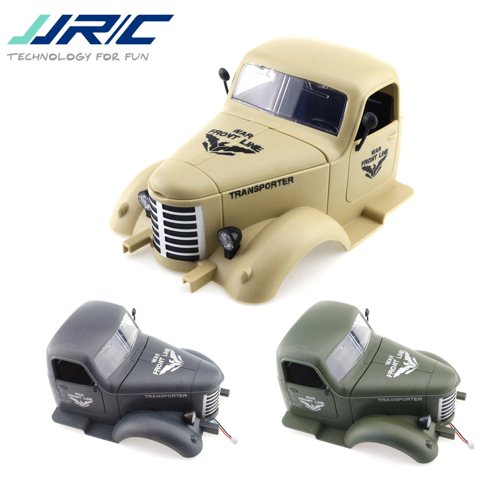 JJRC Q60 Q61 1/16 2.4G Off-Road Military Trunk Crawler RC Car Parts Replacement Accs Car Head Shell Cover Protector