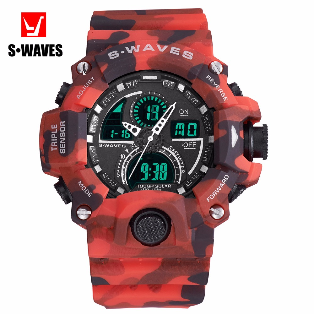 Military G Style Shock Sport S Watch Men Brand Electronic LCD Digital - Men's Watches