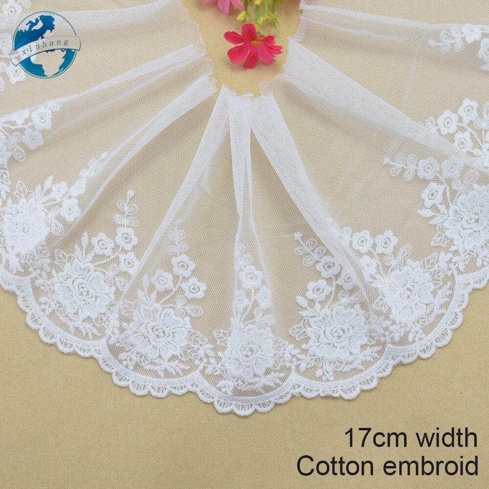 ₪17 cm ancho embroid guipure de la cinta o la tela DIY Craft supply ...