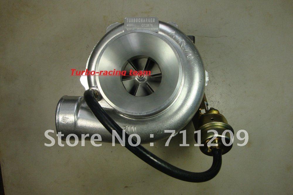 Carregador Turbo T25 GT2876R T28 Turbo Manifold Flange. 86AR Turbina 70AR
