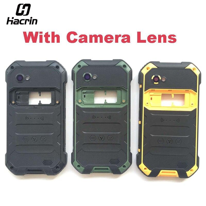 Hacrin Für Blackview BV6000 Batterie Fall + Lautsprecher Hochwertige Schutzmaßnahmen Zurück Abdeckung Ersatz Für Blackview BV6000S