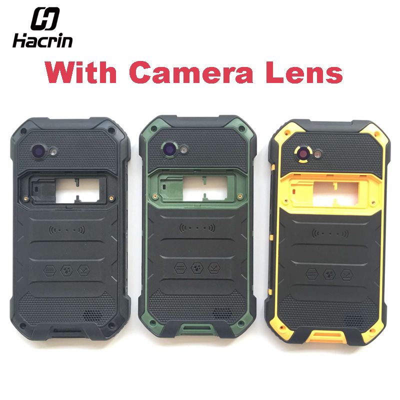 hacrin For Blackview BV6000 Battery Case + Loud Speaker High Quality Protective Back Cover Replacement For Blackview BV6000S