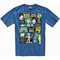 פארקים ונופש רון סוונסון חולצה של גברים 100% כותנה טי T חולצות עיצוב בגדי גברים מזדמנים חולצה למעלה טי