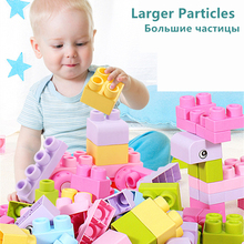 Large Particles Baby Soft Rubber Building Blocks Can Bite High Temperature Boiled Children Toys