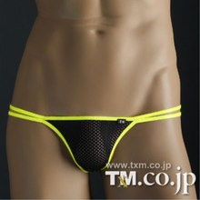 Tm male T panties high-elastic nylon net fabric t perspectivity sexy Free shipping