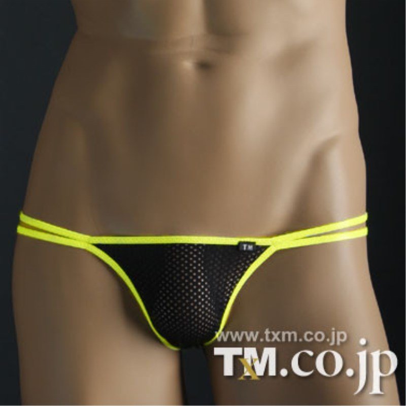 Penis Pouch Underwear Thongs Men Jockstrap Sexy G-Strings Gay Translucent Waist Bright